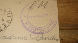 Cachet 95e Bataillon De Chasseurs Alpins De 1940   …... … PHI.......2968 - Marcophilie (Lettres)