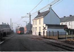 TRAM 90 - ANDERLUES - LIGNE CHARLEROI-LA LOUVIERE - Anderlues