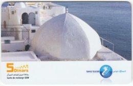 TUNESIA A-063 Prepaid Telecom - Landscape, Coast - Used - Tunisia