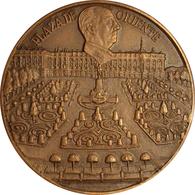 ESPAÑA. FRANCISCO FRANCO. MEDALLA IV ANIVERSARIO. 1.979. BRONCE. ESPAGNE. SPAIN MEDAL - Royal/Of Nobility