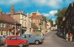 Postcard BMC Austin Morris Mini In Foreground Arundel My Ref  B13217 - Passenger Cars