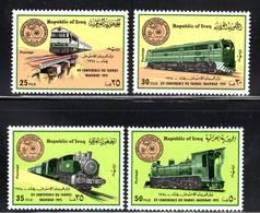 IRAK / IRAQ -  N° 764/7  ** (1975) Locomotives - Iraq