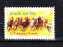 U.s.a. - 1982. Corsa Di Cavalli. Horse Racing - Ippica