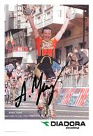 CARTE CYCLISME ANDREY TCHMIL SIGNEE SERIE DIADORA 1999 - Ciclismo