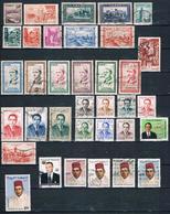 Lot Marokko (siehe Bild) - Morocco (1956-...)
