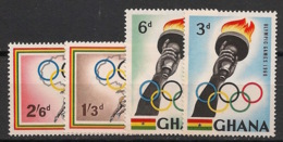 Ghana - 1960 - N°Yv. 75 à 78 - Rome 60 / Olympics - Neuf Luxe ** / MNH / Postfrisch - Ete 1960: Rome