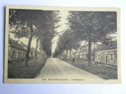 CP (72) Sarthe -  Mulsanne - La Madeleine - France
