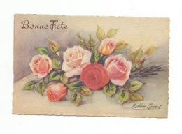 CPA Fantaisie Illustrateur Roses - Autres Illustrateurs