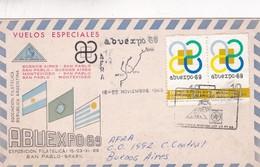 VUELO ESPECIAL ABUEXPO 1969 BRASIL CIRCULEE BUENOS AIRES - BLEUP - Uruguay
