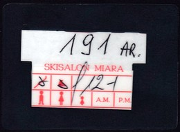 Italy 2001 / Kronplatz, Brunico / Ski Salon Miara Box Card - Invierno