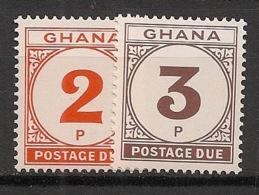 Ghana - 1981 - Taxe TT N°Yv. 24 à 25 - Série Complète - Neuf Luxe ** / MNH / Postfrisch - Ghana (1957-...)