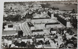 CPSM 36 Chateauroux Cité Saint Denis Belle Vue Aérienne 1958 Opérateur M. Roussel Mme Billard Couptrain - Chateauroux
