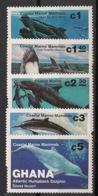 Ghana - 1983 - N°Yv. 781 à 785 - Faune Marine - Neuf Luxe ** / MNH / Postfrisch - Mammifères Marins