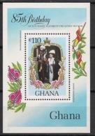 Ghana - 1985 - Bloc Feuillet BF N°Yv. 114 - Queen Elisabeth I - Neuf Luxe ** / MNH / Postfrisch - Ghana (1957-...)
