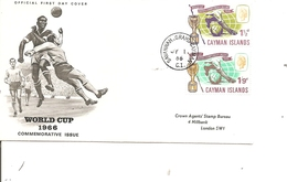 Coupe Du Monde En Angleterre -1966 ( FDC Des Caimanes De 1966 à Voir) - Fußball-Weltmeisterschaft