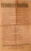NEWS PAPER CZECHOSLOVAKIA-PRE-WORLD WAR II,PRE-NAZI BLITZKRIEG,1938 PERIOD,USED - Books, Magazines, Comics
