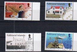 FALKLAND ISLANDS, 2018, MNH, FOX BAY POST OFFICE, POSTAL MUSEUM, PRINCESS ANNE, ROYALTY,   4v - Post