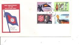 Organisations Internationales - Armée Du Salut ( FDC De Jamaique De 1978 à Voir) - Organizaciones