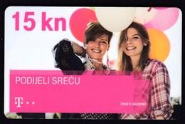 Croatia 2016 / T Com / Pre Paid Phone Card / Podijeli Srecu, Share Happiness - Croazia