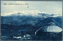 °°° Cartolina N.17 Rieti Monte Terminillo Viaggiata °°° - Rieti