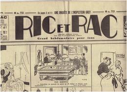 N°575 RIC Et RAC Du 13 Mars 1940 Caricatures Guerin...Bellus . - Journaux - Quotidiens