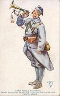 ARMÉE POLONAISE EN FRANCE 1917-1919  ILLUSTRATEUR R.J - Illustrateurs & Photographes