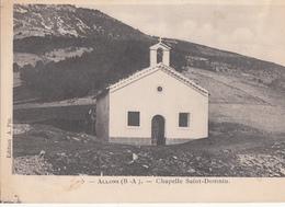 Allos Chapelle Saint Domnin - France