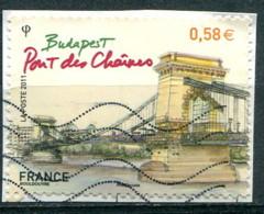 France 2011 - YT 4539 (o) Sur Fragment - Usati