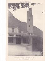 CPA 73 @ AIX Les Bains - MOUXY - Les Mentens - Gare Du Téléphérique Du Revard - Aix Les Bains