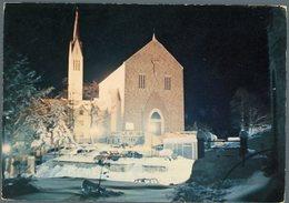 °°° Cartolina N.18 Monte Terminillo Tempio S. Francesco Nptturno Viaggiata °°° - Rieti