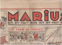N°628 MARIUS Caricatures Et Humour - Newspapers