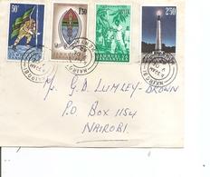 Tanganyika ( Lettre Premier Jour De 1962 De Nairobi Vers L'intérieur à Voir) - Tanganyika (...-1932)