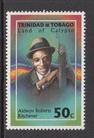 1994 Trinidad & Tobago Music Calypso Kitchener  Complete Set Of 1 MNH - Trinidad & Tobago (1962-...)