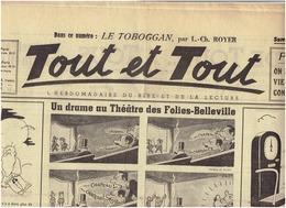 N°18 Et N°35 TOUT Et TOUT  Caricature Et Rire 12 Avril Et 9 Aout 1940 ( 2 Scans ) - Newspapers