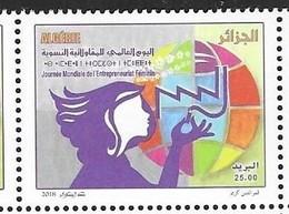 ALGERIA, 2019, MNH ,  WORLD DAY OF WOMEN EMPOWERMENT, WOMEN ENTREPRENEURS, 1v - Stamps