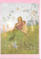 Illustrator  - Margaret W. Tarrant - Pixie, Fairy, Fee, Fée, Fata, Children, Rabbit, Enfants / Modern - Andere Illustrators