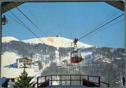 °°° Cartolina N.22 Monte Terminillo Pian De Valli Stazione Inferiore Funivia Viaggiata °°° - Rieti