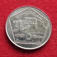 Syria 5 Pounds 1996 KM# 123  Siria Syrie - Syria