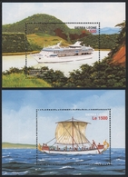 Sierra Leone 1996 - Mi-Nr. Block 308-309 ** - MNH - Schiffe / Ships - Sierra Leone (1961-...)