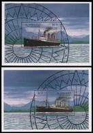 St. Vincent 1996 - Mi-Nr. Block 400-401 ** - MNH - Schiffe / Ships - St.Vincent Und Die Grenadinen