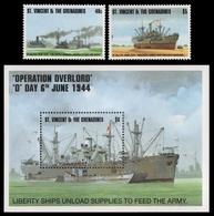St. Vincent 1994 - Mi-Nr. 2846-2847 & Block 319 ** - MNH - Schiffe / Ships - St.Vincent Und Die Grenadinen