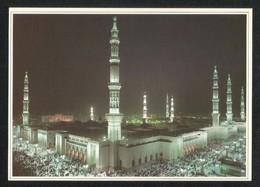 Saudi Arabia Picture Postcard Aerial View Holy Prophet's Mosque Medina Madina Islamic View Card - Saudi Arabia