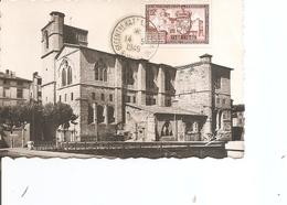 France - Eglise Saint-Bernard De Romans ( CM De 1949 à Voir) - Maximum Cards