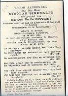 DI/L/  ° REMICH 1865 + HEVERLEE 1946   PROF.KUL   NICOLAS SIBENALER  Met Foto - Religion & Esotérisme