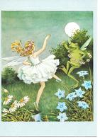 Illustrator - Ida Rentoul Outhwaite - Fairy, Fee, Fée, Pixie, Grenouille, Frog, Frosch, Moon, Dancing / Modern - Andere Illustrators