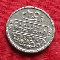 Syria 25 Piastres 1968 KM# 96 Siria Syrie - Syria