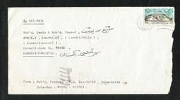 Qatar Air Mail Postal Used Cover Qatar To Pakistan  Universal Postal Union - Qatar