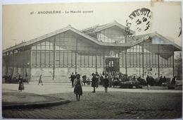 LE MARCHÉ COUVERT - ANGOULÈME - Angouleme