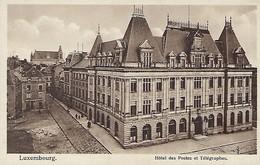 Luxembourg  -  Hôtel Des Postes Et Télégraphes  Th.Wirol,Luxembg-Gare - Cartes Postales