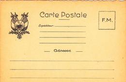Carte Postale De Franchise Militaire. Neuve - Militaria